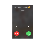 call from the school nurse